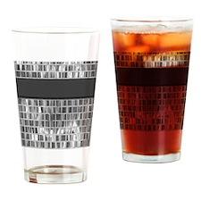 Mirrored Metal Magic4 Drinking Glass