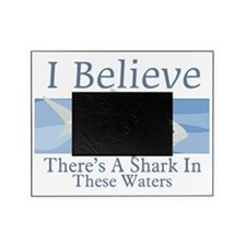 Shark In These Waters Picture Frame