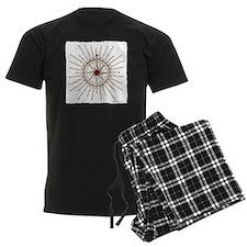 #V-62 Compose Rose square w ed Pajamas