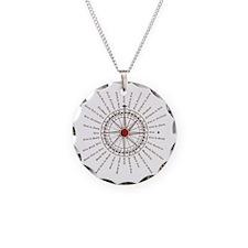 #V-62 Compose Rose square w  Necklace