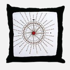 #V-62 Compose square Throw Pillow