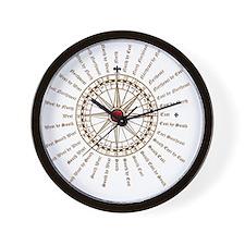 #V-62 Compose square Wall Clock