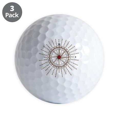 #V-62 ORN O copy Golf Balls