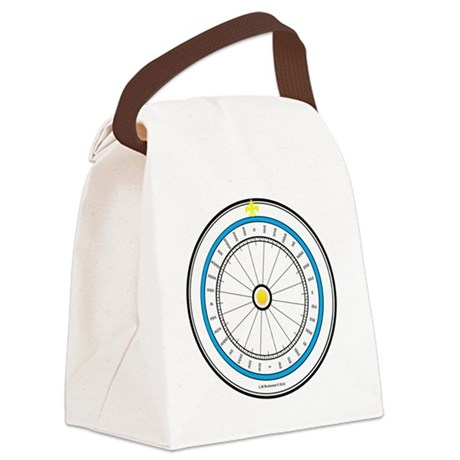 #V-66 ORN R copy Canvas Lunch Bag