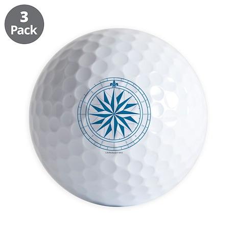 V-#68 square Golf Balls