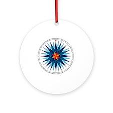 #V-116 ORN R copy Round Ornament