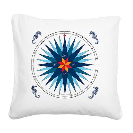 Compose Rose V-116 square Square Canvas Pillow