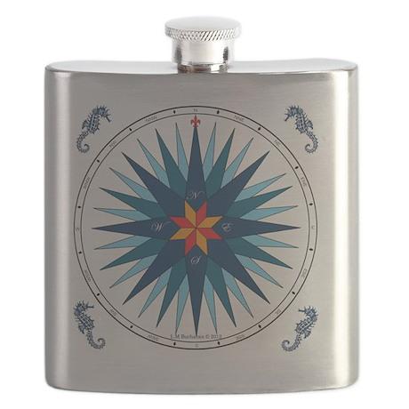 Compose Rose V-116 square Flask