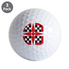 #V-126 ORN R copy Golf Ball