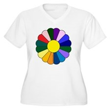 Quilt Design V-12 T-Shirt