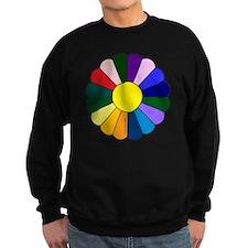 Quilt Design V-129 square Sweatshirt