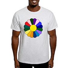 Quilt Design V-129 square T-Shirt