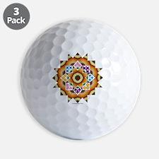 Quilt Design V-137 square Golf Ball