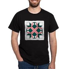 Quilt Design V-141 square w edge T-Shirt