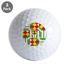 Quilt Design V-149 Mouse Pad Golf Ball
