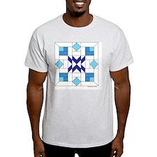 Quilt Design V-140 square T-Shirt