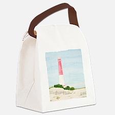 #8 square w edge Canvas Lunch Bag
