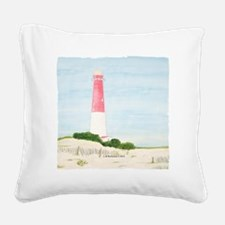 #8 square w edge Square Canvas Pillow