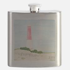 #8 square w edge Flask