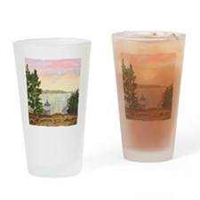 #12 Square w edge Drinking Glass
