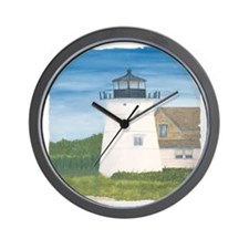 #2 square w edge Wall Clock