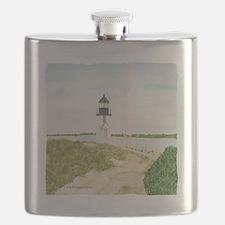 #3 square w edge Flask