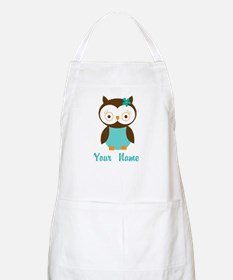 Personalized Owl Apron