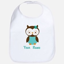 Personalized Owl Bib