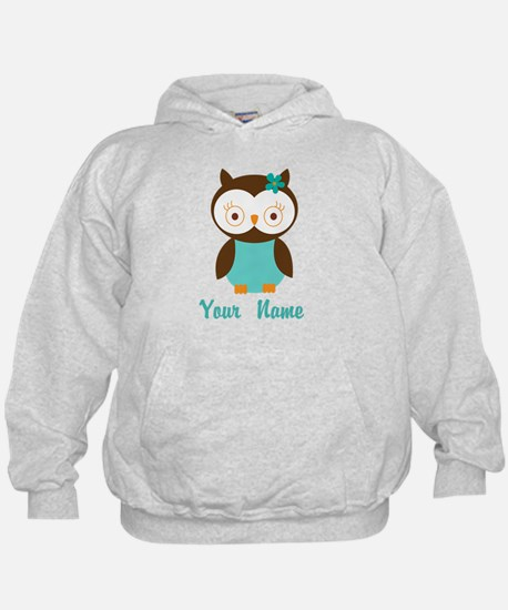 Personalized Owl Hoodie