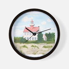 #7 square w edge Wall Clock