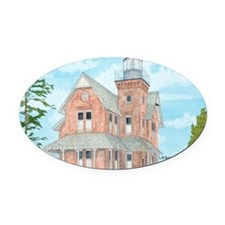#37 Mouse Pad Oval Car Magnet