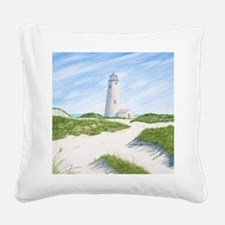 #11 square Square Canvas Pillow