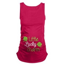 Little lucky charm Maternity Tank Top