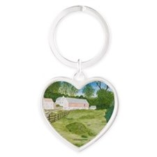 # 5 ORN R copy Heart Keychain