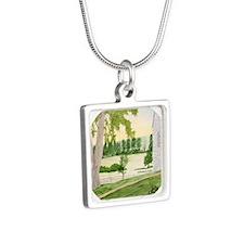 # 6 ORN R copy Silver Square Necklace