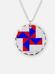 Louisiana square Necklace