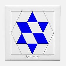 Kentucky square w edge Tile Coaster