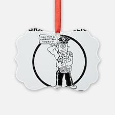 Cute Grammar police Ornament