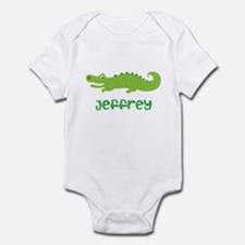 Personalized Crocodile Alligator Infant Bodysuit