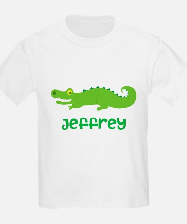 Personalized Crocodile Alligator T-Shirt
