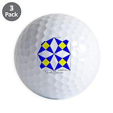 Ornament R North Dakota V-200 copy Golf Ball