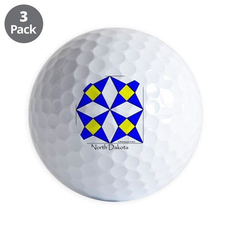 Ornament R North Dakota V-200 copy Golf Balls