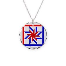 Tennessee square w edge Necklace