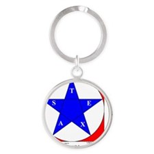 Ornament R Texas V-209 copy Round Keychain