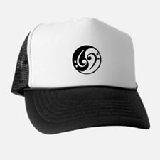 Yin Yang Bass Note Trucker Hat