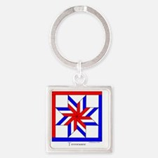 Tennessee square Square Keychain