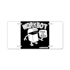 Workbot Aluminum License Plate