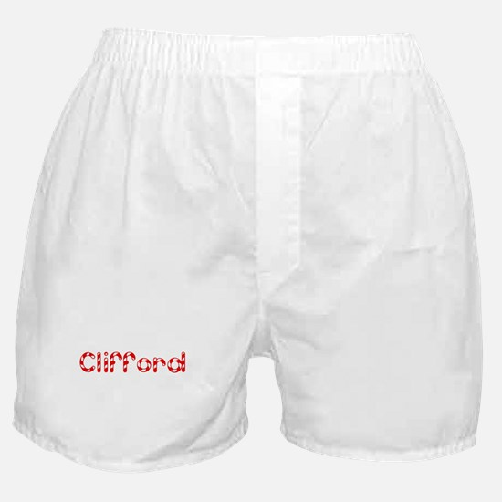 Clifford - Candy Cane Boxer Shorts
