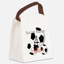 Soccer Moms 4 Hillary Canvas Lunch Bag