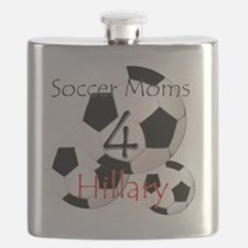 Soccer Moms 4 Hillary Flask
